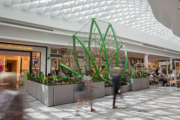 Shopping centres, clean and healthy play environment for families.