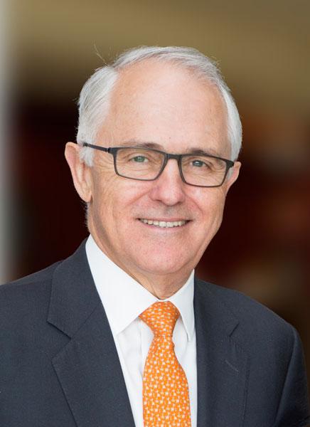 Malcolm Turnbull, Prime Minister of Australia