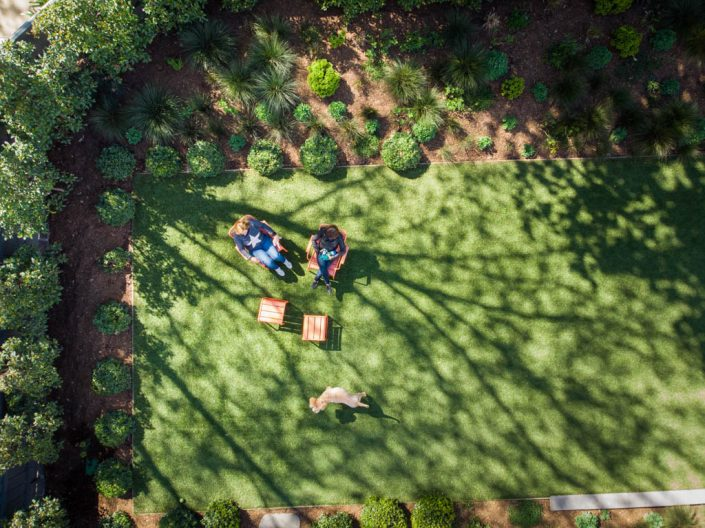 Award winning designed landscape gardening