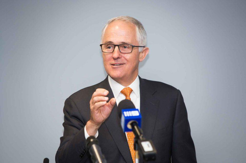 Prime Minister, Malcolm Turnbull