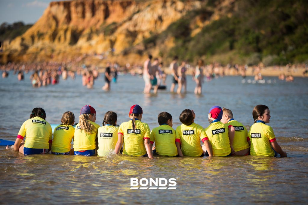 Bonds clothing, Nippers at Surf Club