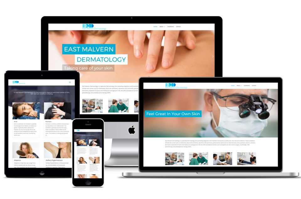 Website design 4 medical specialists