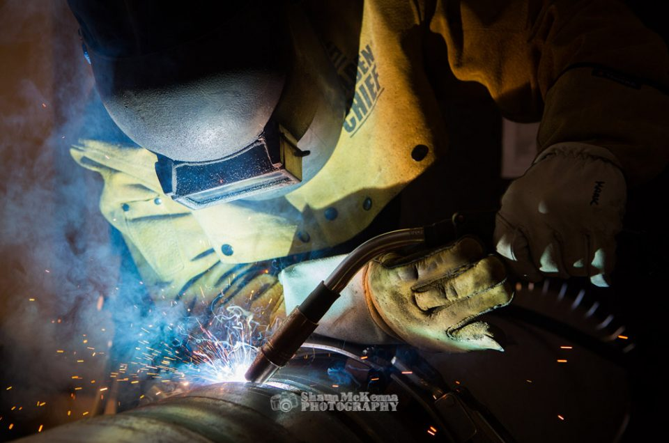 The complexities of photographing welding