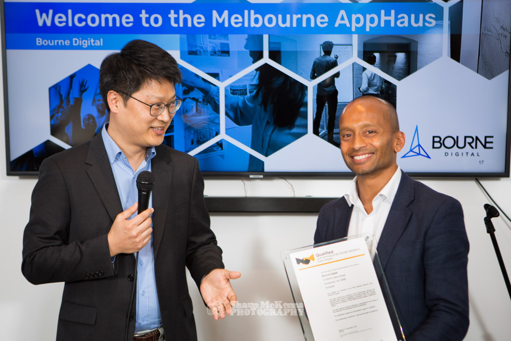 Selim Ahmed and B Christopher Han - Bourne Digital, AppHaus Network